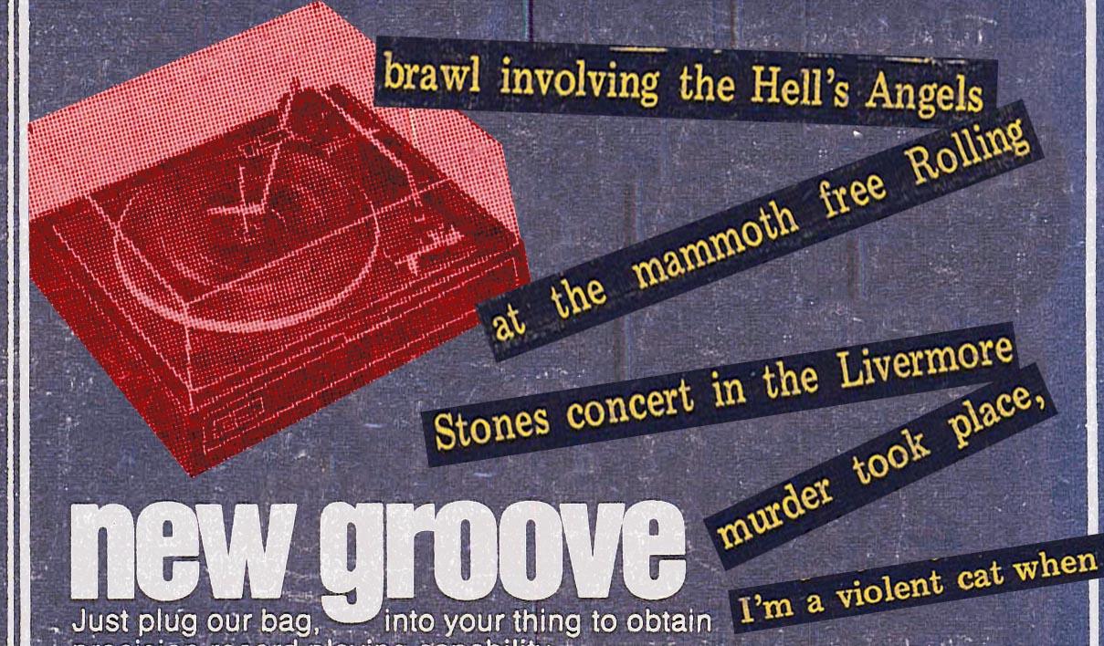 stones altamont concert report