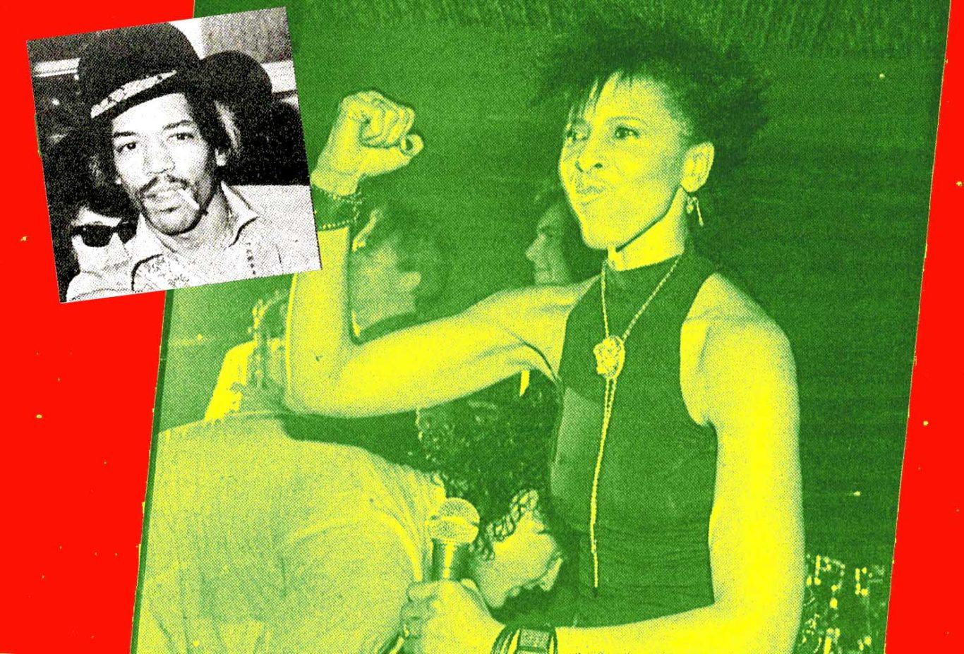 greg tate article jimi hendrix and Nona Hendrix pictured