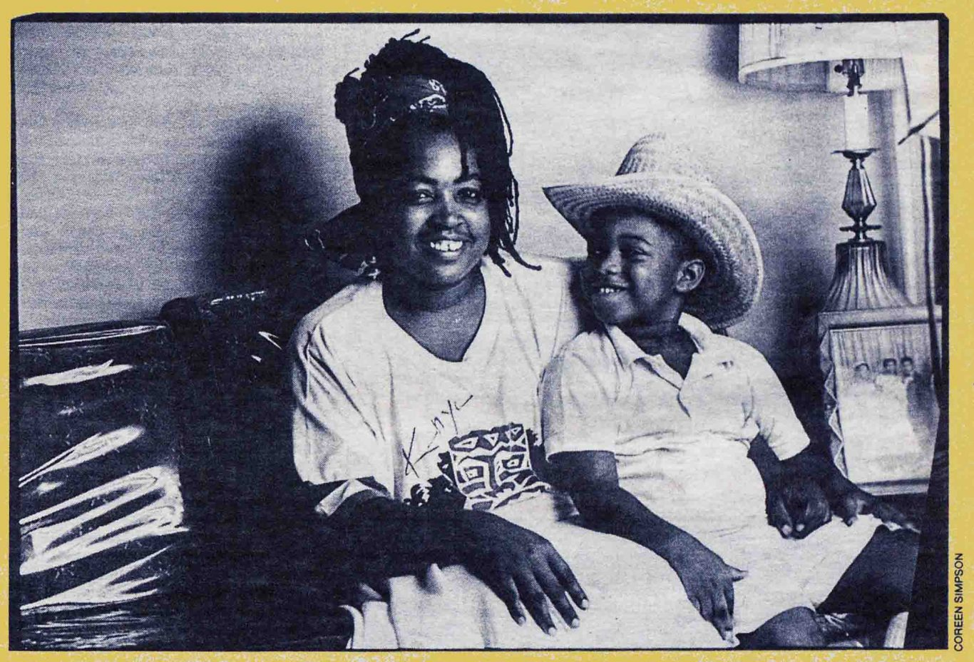 "1987 Village Voice package, BLACK METROPOLIS, looks at ""encounters five black writers had with people in several of New York's black communities"""