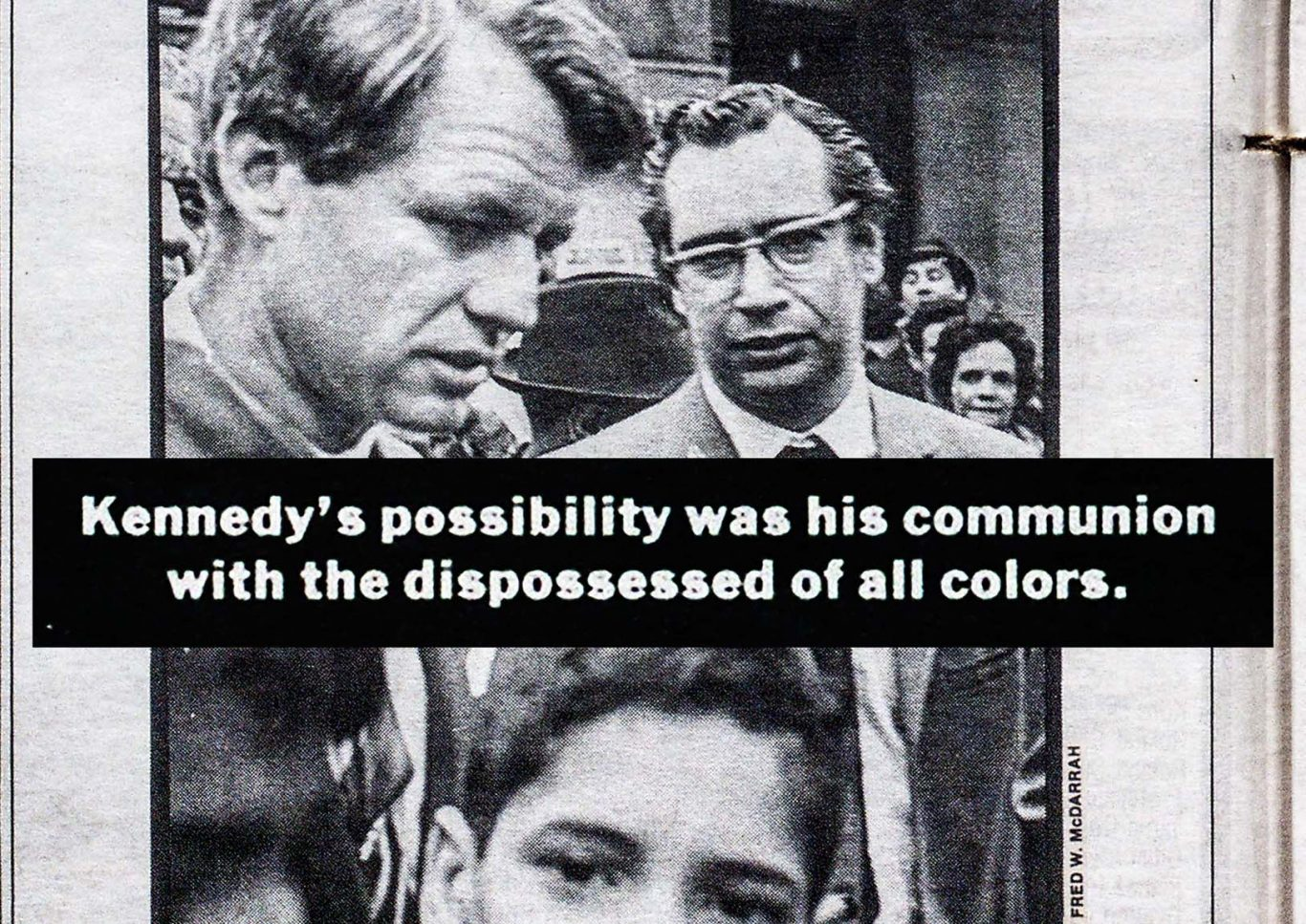 1988 Village Voice article by Jack Newfield about how history changed in 1968 when Robert Kennedy was assassinated