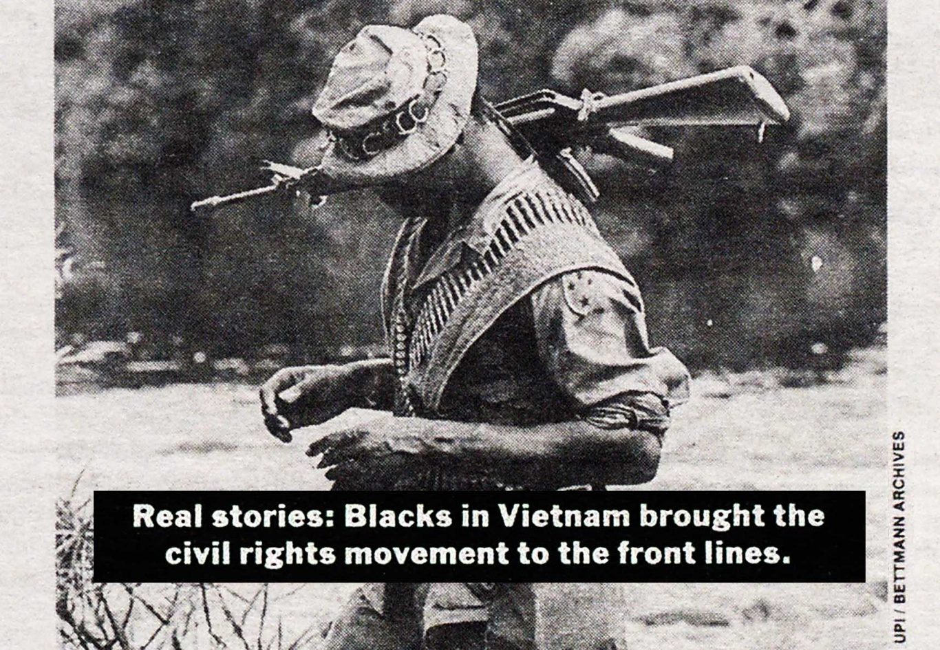1988 Village Voice article by Dalton Narine about Black soldiers in Vietnam